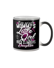 MOMMY'S LITTLE GIRL - I'M A ROCK CLIMBER DAUGHTER Color Changing Mug thumbnail