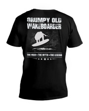 GRUMPY OLD WAKEBOARDER V-Neck T-Shirt thumbnail