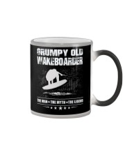 GRUMPY OLD WAKEBOARDER Color Changing Mug thumbnail