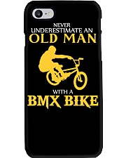 OLD MAN WITH A BMX BIKE Phone Case thumbnail