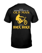 OLD MAN WITH A BMX BIKE Classic T-Shirt back