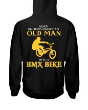 OLD MAN WITH A BMX BIKE Hooded Sweatshirt thumbnail