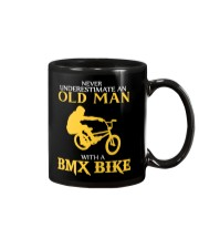 OLD MAN WITH A BMX BIKE Mug thumbnail