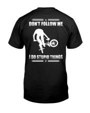 BMX - DON'T FOLLOW ME Classic T-Shirt back