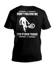 BMX - DON'T FOLLOW ME V-Neck T-Shirt thumbnail