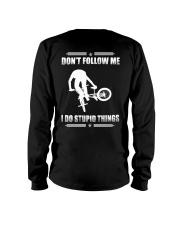BMX - DON'T FOLLOW ME Long Sleeve Tee thumbnail