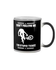 BMX - DON'T FOLLOW ME Color Changing Mug thumbnail