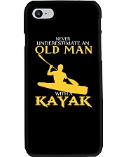 Old Man With A Kayak Phone Case thumbnail