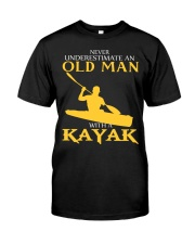 Old Man With A Kayak Classic T-Shirt front
