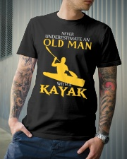 Old Man With A Kayak Classic T-Shirt lifestyle-mens-crewneck-front-6