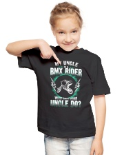 MY UNCLE IS A BMX RIDER Youth T-Shirt lifestyle-youth-tshirt-front-2