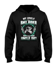 MY UNCLE IS A BMX RIDER Hooded Sweatshirt thumbnail
