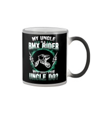 MY UNCLE IS A BMX RIDER Color Changing Mug thumbnail