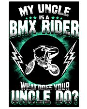 MY UNCLE IS A BMX RIDER 11x17 Poster thumbnail