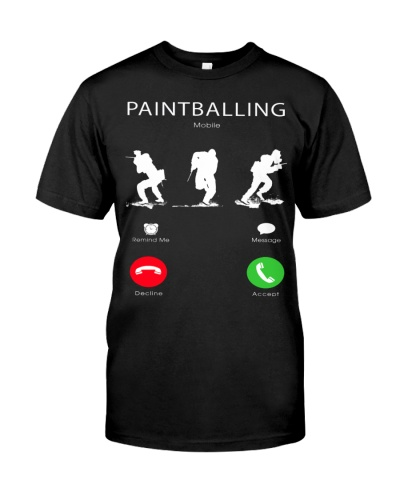 LIMITED EDITION - PAINTBALLING CALLING