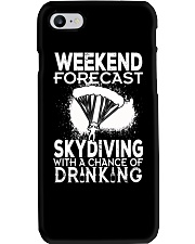 Skydiving - Weekend Forecast Phone Case thumbnail