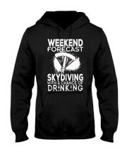 Skydiving - Weekend Forecast Hooded Sweatshirt thumbnail