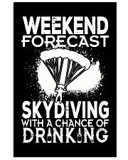 Skydiving - Weekend Forecast 16x24 Poster thumbnail