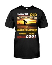 AWESOME WAKEBOARDER Classic T-Shirt front