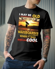 AWESOME WAKEBOARDER Classic T-Shirt lifestyle-mens-crewneck-front-6