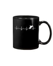 SNOWMOBILING HEARTBEAT Mug thumbnail