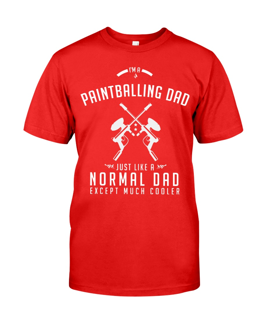 PAINTBALLING DAD Classic T-Shirt
