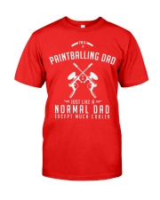 PAINTBALLING DAD Classic T-Shirt front
