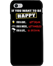 SKYDIVING MAKES ME HAPPY Phone Case thumbnail