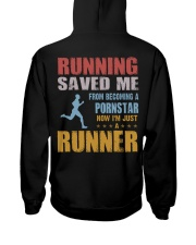 RUNNING SAVED ME Hooded Sweatshirt thumbnail