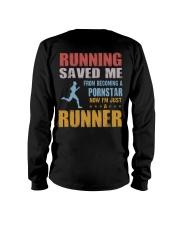 RUNNING SAVED ME Long Sleeve Tee thumbnail