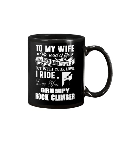 ROCKCLIMBER WIFE - PERFECT PRENSENT GIFST FOR WIFE