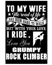 ROCKCLIMBER WIFE - PERFECT PRENSENT GIFST FOR WIFE 11x17 Poster thumbnail