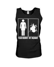 DRUM- YOUR MOMMY - MY MOMMY Unisex Tank thumbnail