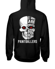 THE BEST BECOME PAINTBALLERS Hooded Sweatshirt thumbnail