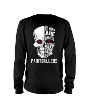 THE BEST BECOME PAINTBALLERS Long Sleeve Tee thumbnail