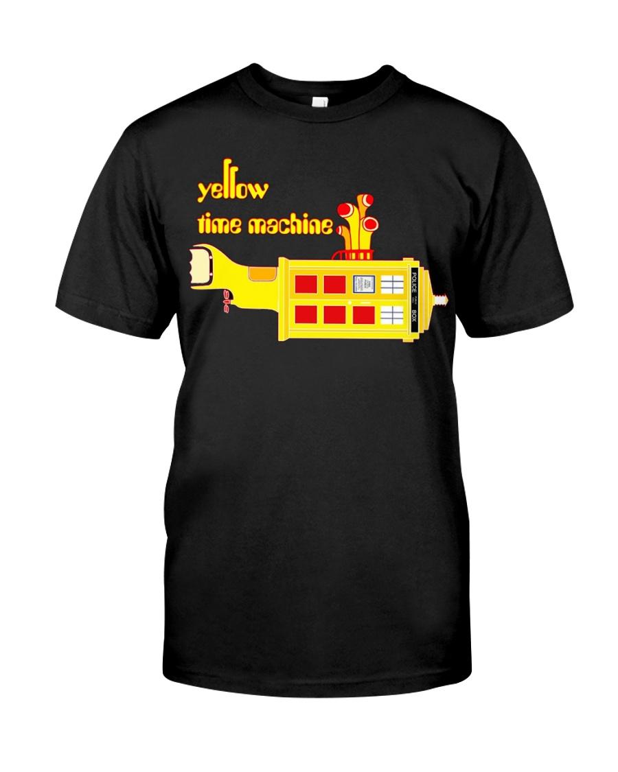 Yellow Time Machine Classic T-Shirt