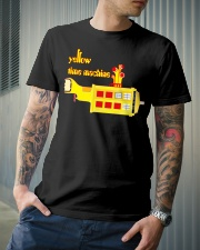 Yellow Time Machine Classic T-Shirt lifestyle-mens-crewneck-front-6