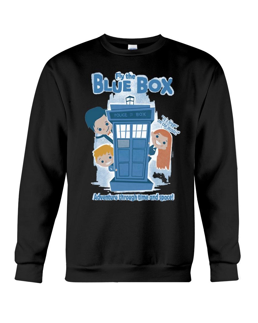 Fly The Blue Box Crewneck Sweatshirt