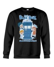 Fly The Blue Box Crewneck Sweatshirt front