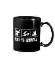 LIFE IS SIMPLE - SAILING Mug thumbnail