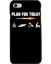 PLAN FOR TODAY - JET BOATING Phone Case thumbnail