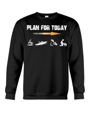 PLAN FOR TODAY - JET BOATING Crewneck Sweatshirt tile