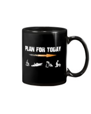 PLAN FOR TODAY - JET BOATING Mug tile