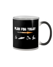 PLAN FOR TODAY - JET BOATING Color Changing Mug tile