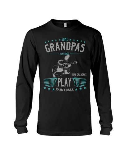 REAL GRANDPAS PLAY PAINTBALL