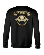 SKYDIVER SKULL Crewneck Sweatshirt thumbnail