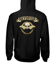 SKYDIVER SKULL Hooded Sweatshirt thumbnail