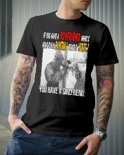LOVE PAINTBALL Classic T-Shirt lifestyle-mens-crewneck-front-6
