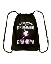 MY GRANDPA IS BETTER A DRUMMER THAN YOUR GRANDPA Drawstring Bag thumbnail