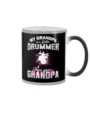 MY GRANDPA IS BETTER A DRUMMER THAN YOUR GRANDPA Color Changing Mug thumbnail